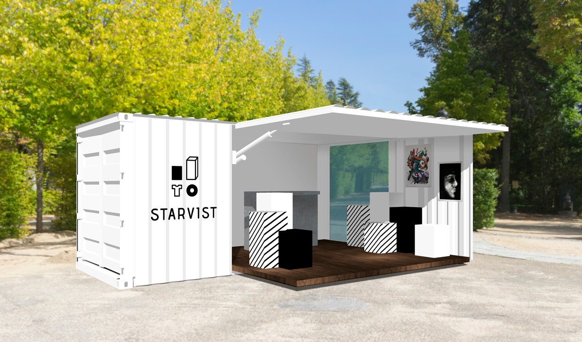 container pop-up store